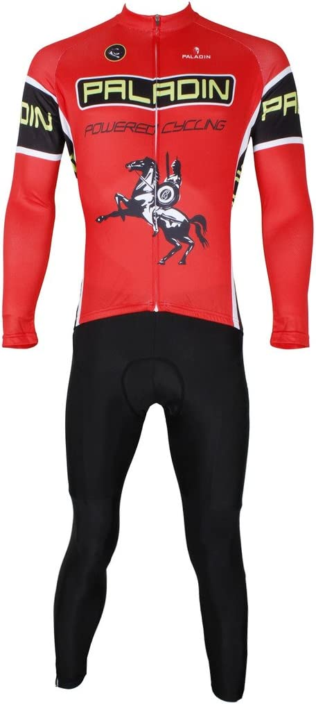 Inexpensive PaladinSport Men's Knight Pattern Road and Pro Bike Ranking TOP5 Clothing Cyc