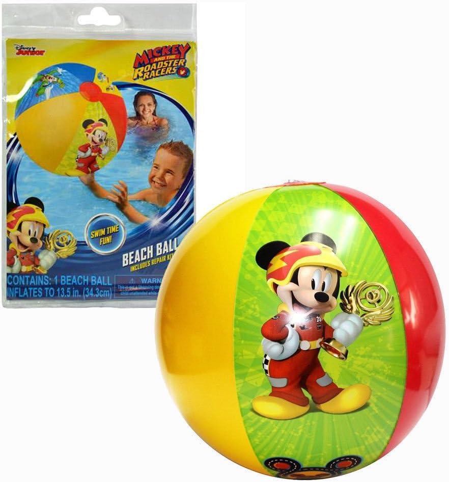 Pelota de Playa de Mickey Mouse: Amazon.es: Juguetes y juegos