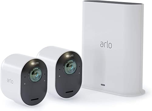 Arlo VMS5240 Ultra - 4K UHD Wire-Free Security 2 Camera System