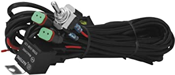 amazon com vision x universal dual light wiring harness pharness rh amazon com  vision x wiring harness instructions