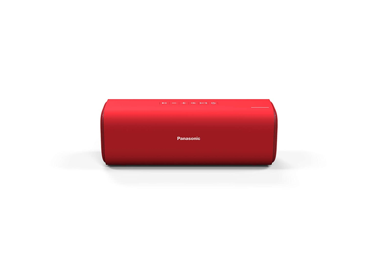 Panasonic Portable Wireless Bluetooth Speaker with 2 Powerful 50mm Driver Unit, 10W Stereo Sound and up-to 8 Hours Playback (SC-NA07GW-R)