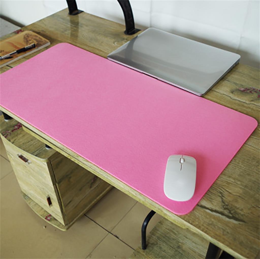 XL-3-Pulsera de simple acolchado juego de escritorios de computadora acolchado simple grande teclado mat mouse pad , single Rosa f86e7f
