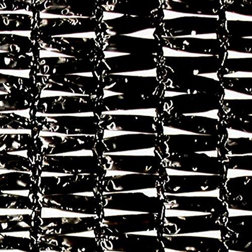 【1本】 2m × 50m 黒 遮光率80~85% ダイオラッセル 遮光ネット 1800 寒冷紗 ダイオ化成 タ種 代不 B0714BY5VY