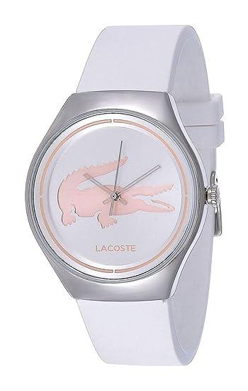 Lacoste – Reloj de Pulsera analógico para Mujer Cuarzo Silicona 2000838
