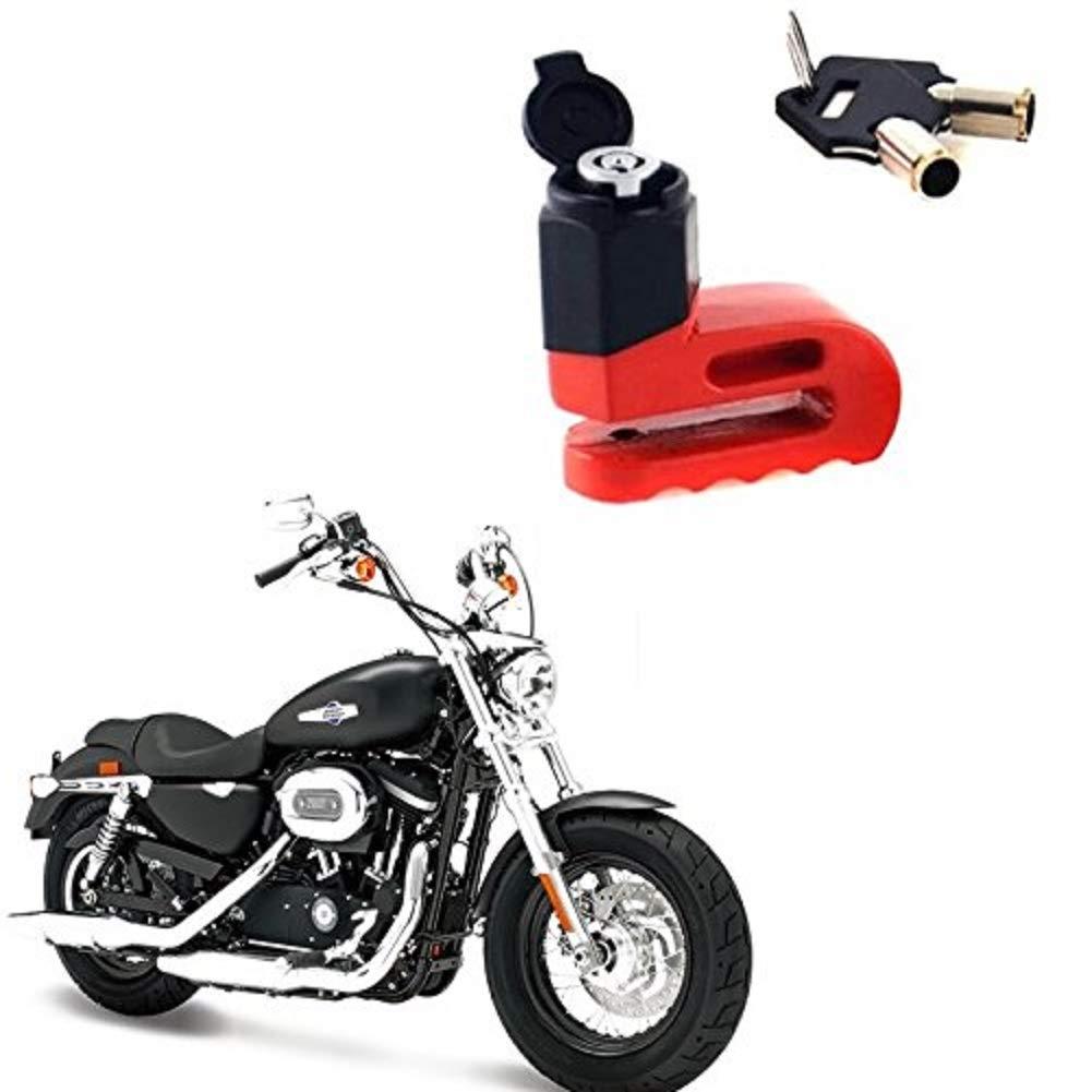 Mountainbike e Scooter Bici Ducomi SafeMoto Blocca Freno a Disco Lucchetto Antifurto per Moto Resistente e Sicuro per Moto