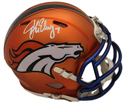 488f2338934 Image Unavailable. Image not available for. Color: John Elway Autographed/Signed  Denver Broncos ...