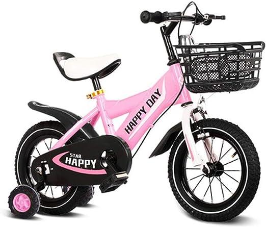 AJZGF Bicicletas niños Bicicleta for niños luz Bicicleta ...