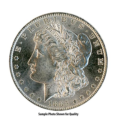 1885 0 Morgan Silver Dollar $1 Brilliant Uncirculated