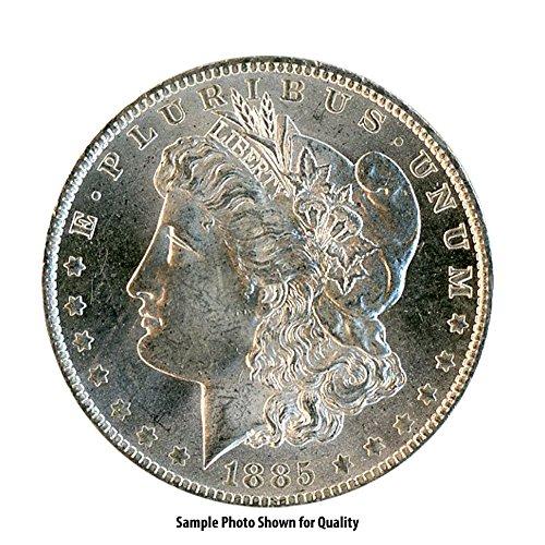1885 0 Morgan Silver Dollar $1 Brilliant Uncirculated