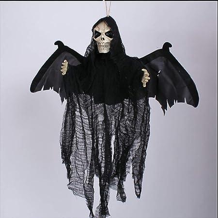 Halloween Hanté Photo son et mouvement Activé Horreur Prop