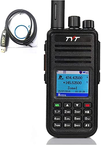 TYT MD-UV380 Dual Band VHF UHF 136-174Mhz 400-480Mhz Handheld Two Way Radio