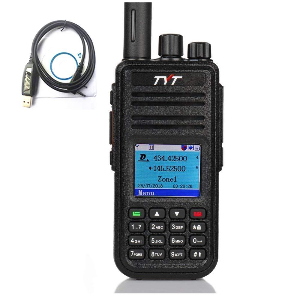 TYT MD-UV380 Dual Band VHF UHF 136-174Mhz 400-480Mhz Handheld Two Way Radio