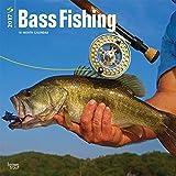 2017 Monthly Wall Calendar – Bass Fishing