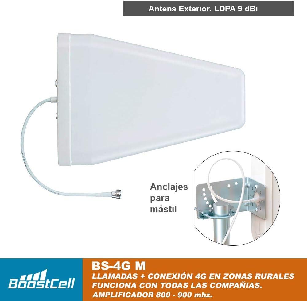 Dual Band 800 - 900 Mhz. 4G/3G/2G. Amplificador COBERTURA 4G + ...