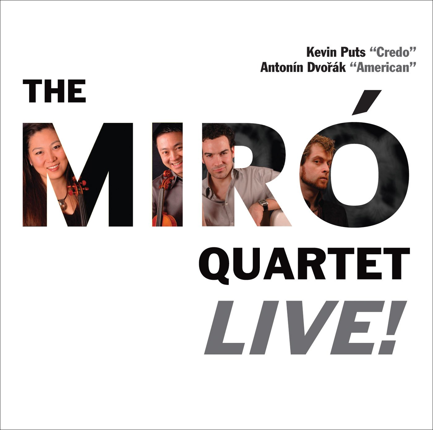 Miro Quartet Live: Credo / String Quartet in F Major