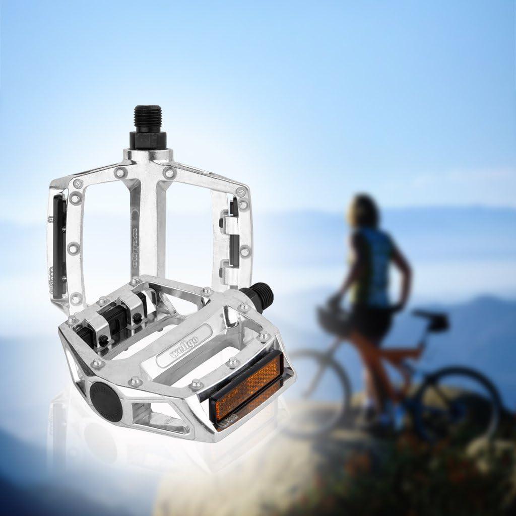 Oxford Street alta calidad barato bicicleta pedales, plata con estándar bicicleta pedales 1,43 cm subproceso bicicleta pedales montaña híbrido: Amazon.es: Electrónica
