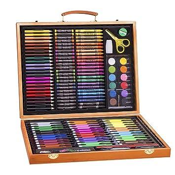 Sets De Dessin Malette De Coloriage Enfants Aquarelle Crayon Enfants