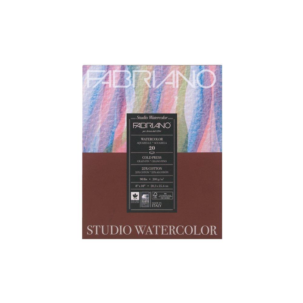 Fabriano studio Toilettes Pad 8X10 Cp 90lb 20 SHTS SAVOIR-FAIRE