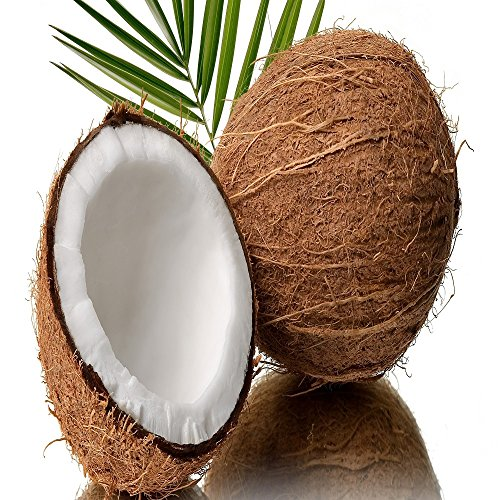 COCONUT FRAGRANCE OIL - 4 OZ - FOR CANDLE & SOAP MAKING BY VIRGINIA CANDLE SUPPLY - FREE S&H IN USA