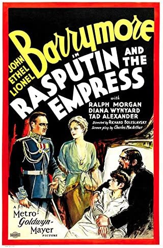 Rasputin and the empress vintage movie poster print
