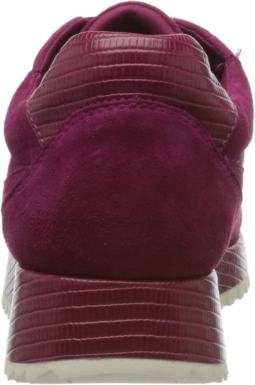 Tamaris 1-1-23731-24, Sneakers Basses Femme Rouge Cranberry 631
