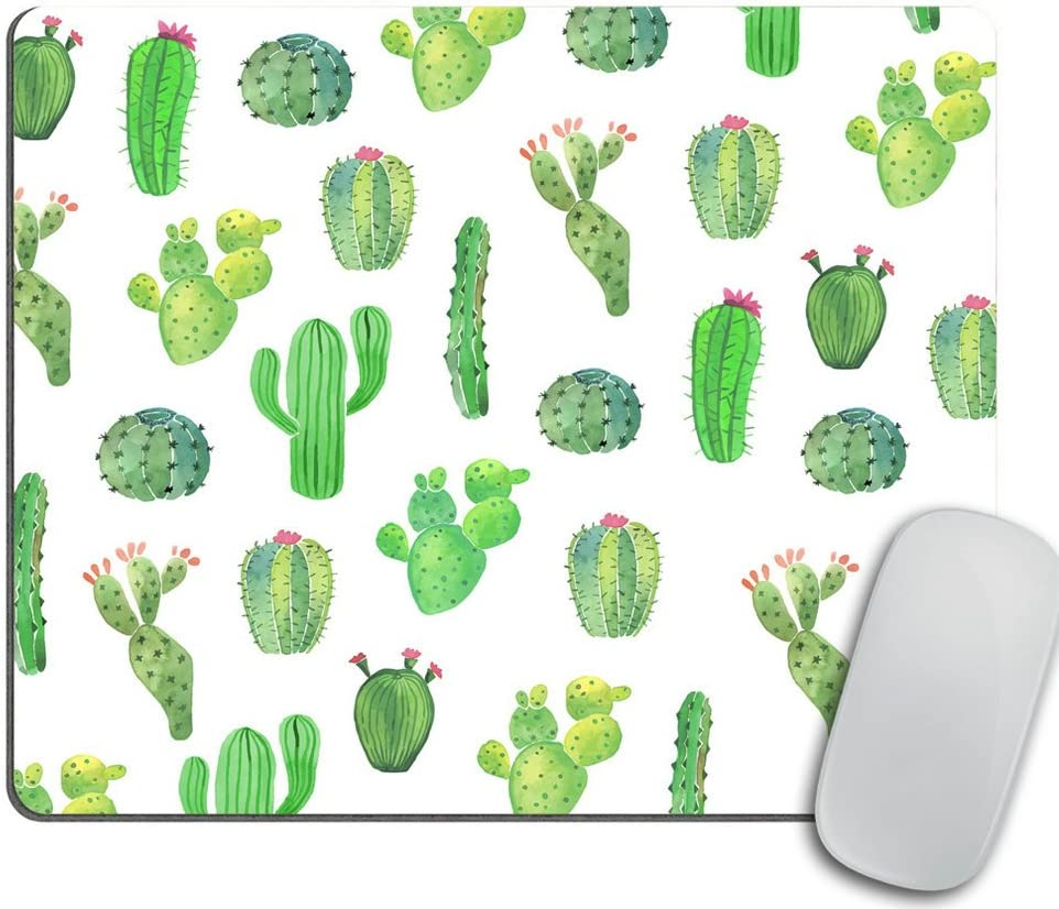 Cactus Mouse Pad Gift Desk Decor Dorm Decor Office Decor Mousepad Office Supplies Green Cubicle Decor Cute Office Desk Accessories