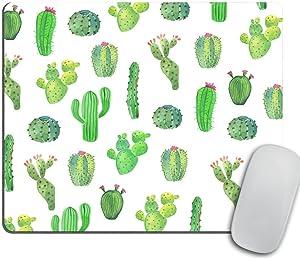 Cactus Mouse Pad Gift Desk Decor Dorm Decor Office Decor Mousepad Office Supplies Green Cubicle Decor Cute Office Desk Accessories