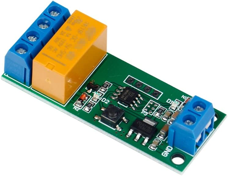 Motor de corriente continua Interruptor de polaridad inversa Interruptor DPDT Módulo de Relé 2A 5V
