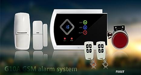 Sistema de Alarma antirrobo gsm realiza SMS y Chiama móvil ...