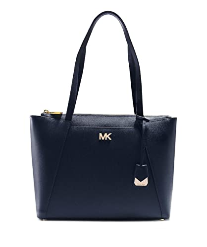 555a5c5e2382 MICHAEL Michael Kors Women s Maddie Medium Leather Tote Bag One Size Admiral