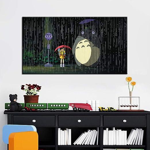 RTCKF Cartel de película de Dibujos Animados Modernos y ...