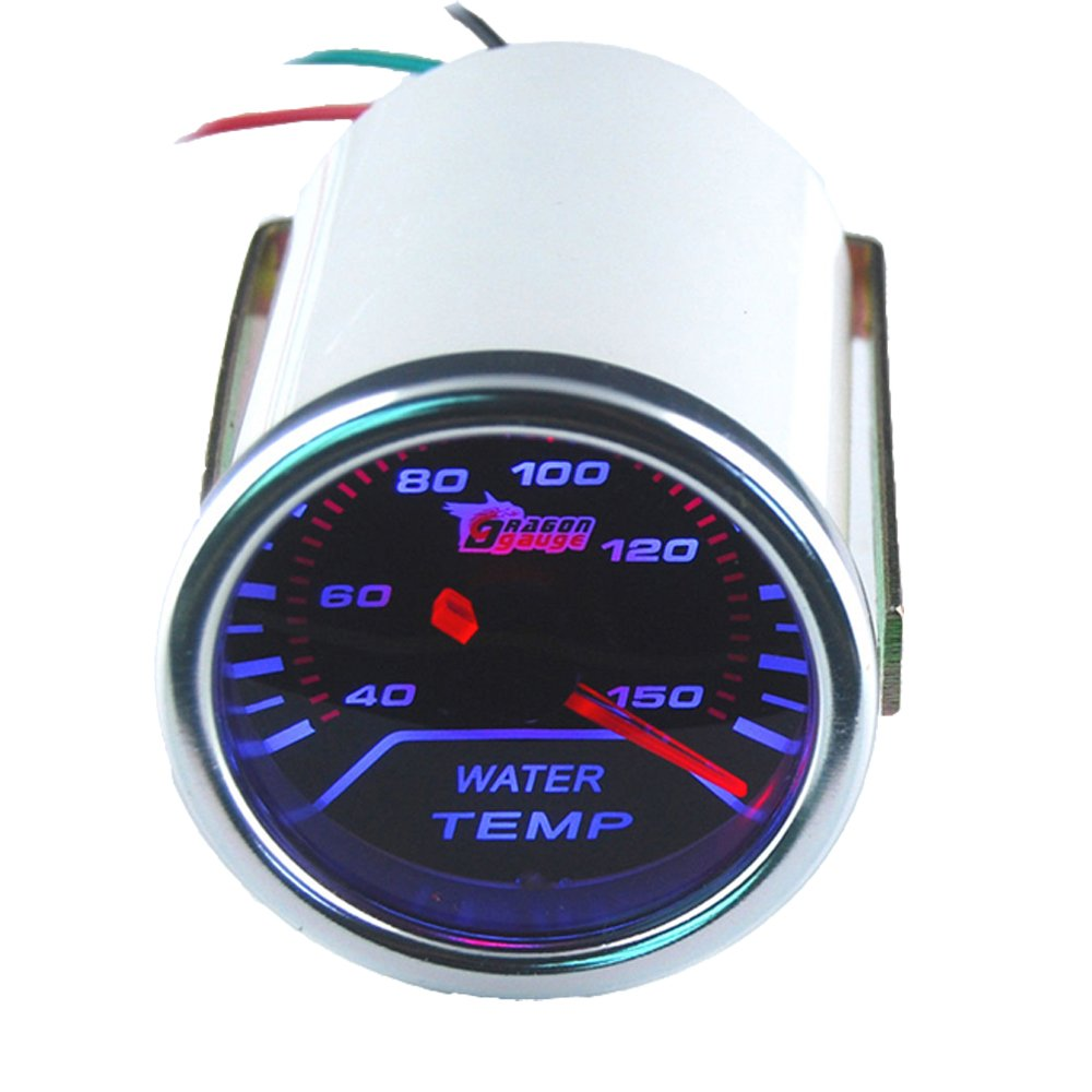 ESUPPORT Car 2'' 52mm Water Temp Gauge Meter Temperature Light by ESUPPORT