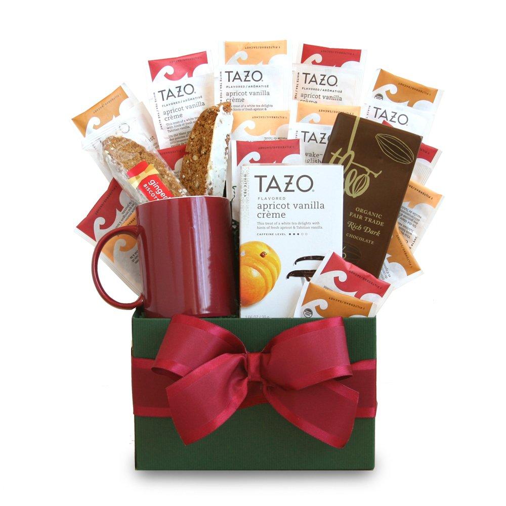 California Delicious Tazo Tea Temptations Gift Basket by California Delicious