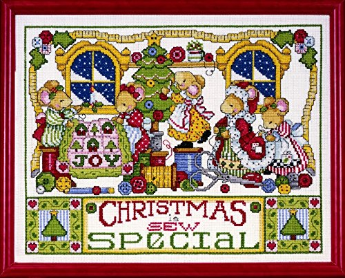 Design Works Counted Cross Stitch Kit Christmas Is Sew Special by Design Works