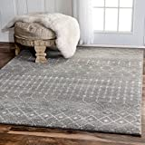 5 feet by 7 feet rug - nuLOOM Traditional Vintage Can Trellis Bd16 Area Rugs, 5' x 7' 5