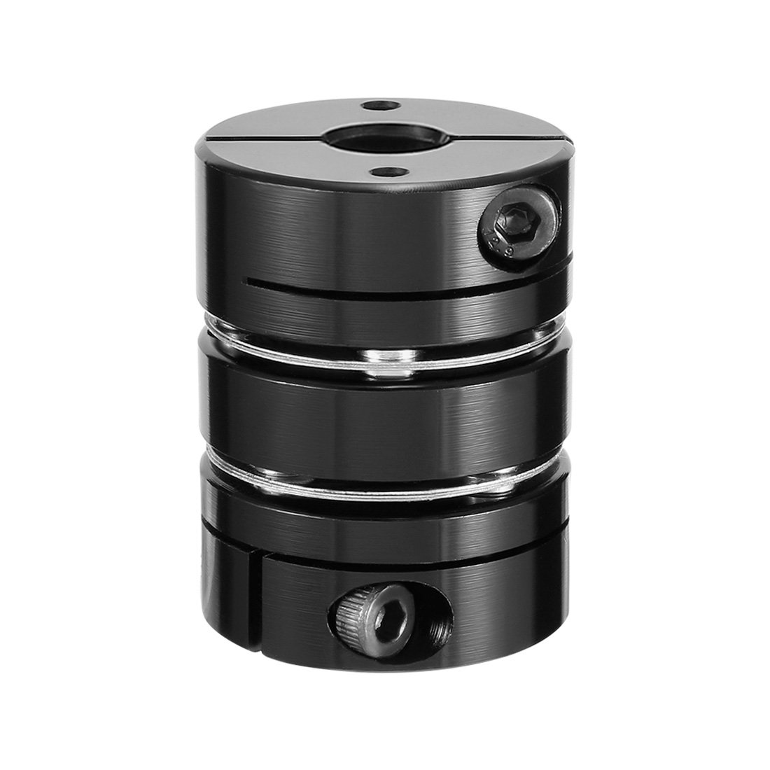 sourcingmap 6mmx11mm Clamp Tight Motor Shaft 2 Diaphragm Coupling Coupler a17110100ux0184