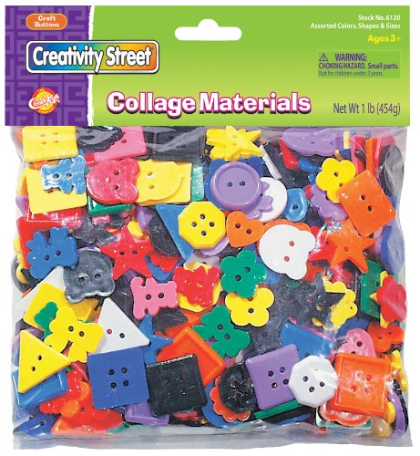 Chenille Kraft Big Bag of Plastic Buttons 6120