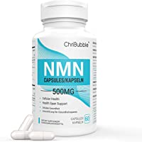 NMN tillskott med maximal styrka   500 mg per kapsel   Kraftfulla Boost NAD + -nivåer för att stödja åldrande och mental…