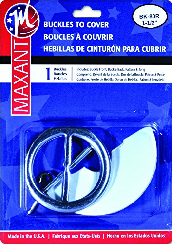 Maxant Covered Belt Buckle Kit and 44
