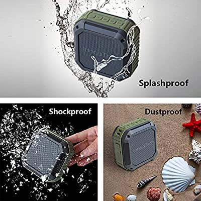 Bluetooth Speakers - Outdoor & Shower Bluetooth Wireless Speaker [The Only Outdoor Portable Bluetooth Speakers with TF Card Reading Function]