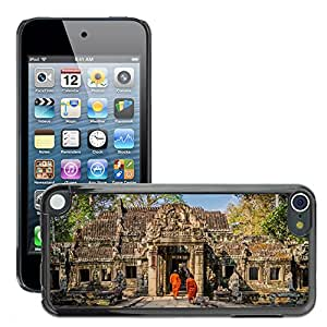 Hot Style Cell Phone PC Hard Case Cover // M00168921 Angkor Wat Cambodia Old Asia // Apple ipod Touch 5 5G 5th