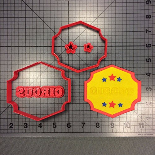 Circus Sign 266-116 Cookie Cutter Set