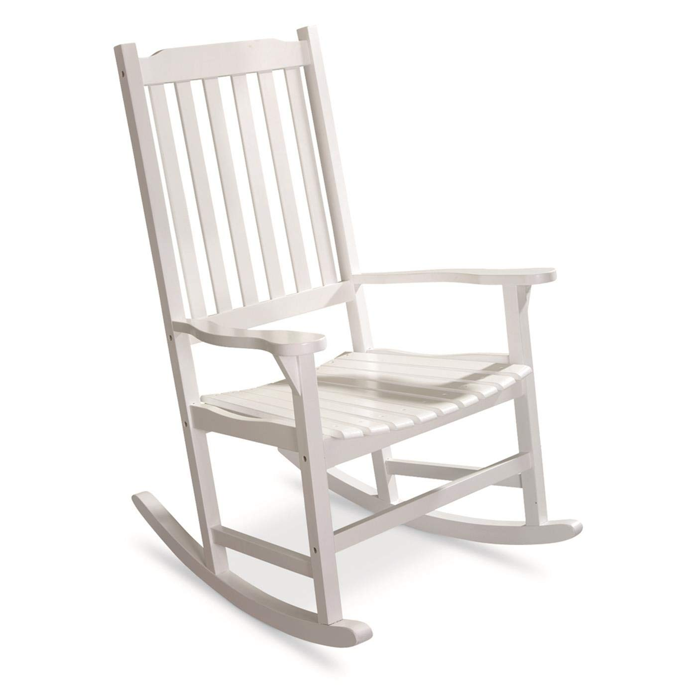 Strange Castlecreek Oversized Rocking Chair 400 Lb Capacity White Gmtry Best Dining Table And Chair Ideas Images Gmtryco