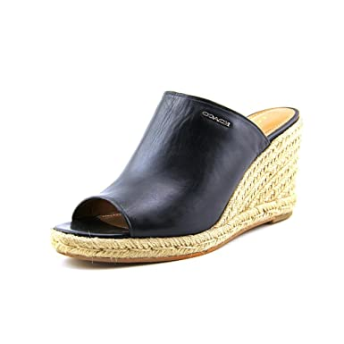 2e745cded75 Amazon.com   Coach Women's Gayle Semi Black Matte Calf Leather ...