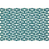 "Loloi WESNHWS09IVTE2339 Rugs, Weston Collection, Ivory/Teal, 2'-3"" x 3'-9"""