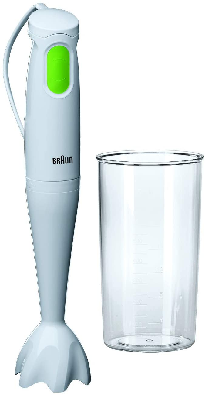 Braun MQ100 Soup Multiquick 1 Tribute Collection Hand Blender, 220V (Not for USA - European Cord)