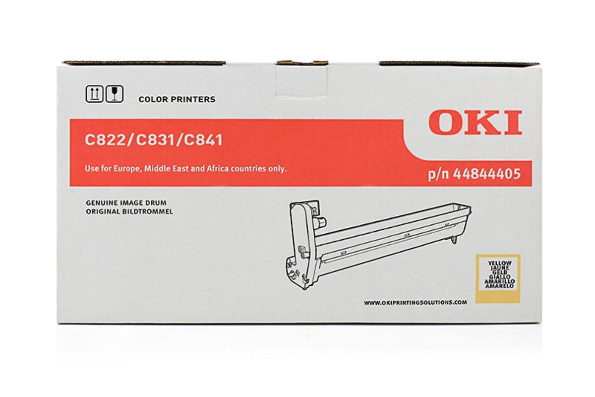 30.000 Seiten OKI C 840 Series 44844405 - Bildtrommel gelb OKI original