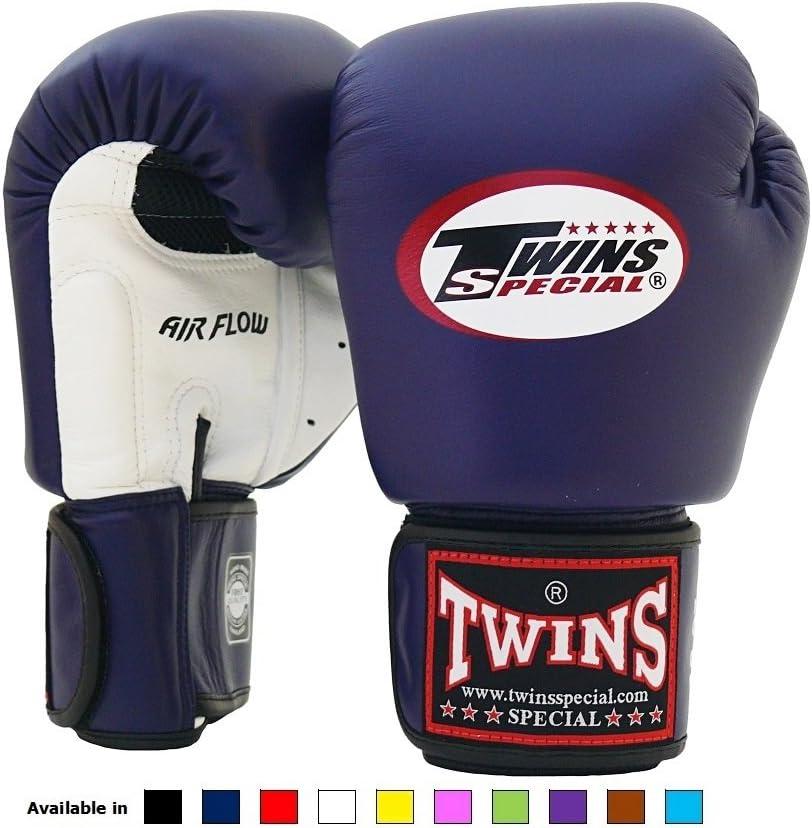 Twins Special Muay Thai Boxing Gloves BGVL-3 Black 8-10-12-14-16 Oz.