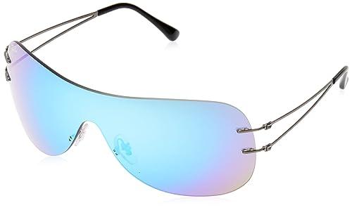 Ray-Ban RB8057, Gafas de Sol Unisex-Adulto, Negro, 0