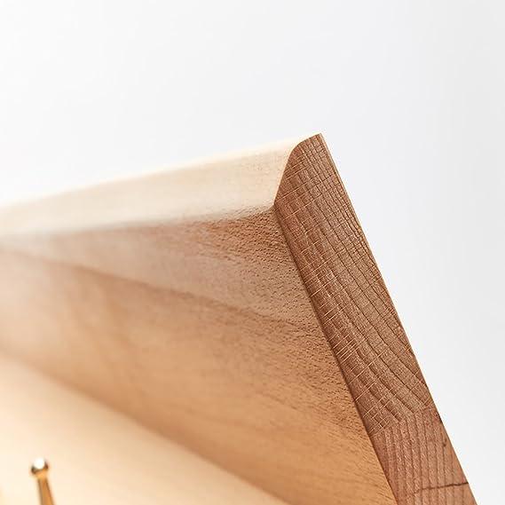 Amazon.com: CHAOYANG - Perchero de entrada de madera maciza ...